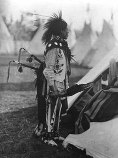 Willie Andrews - Nez Perce - 1913