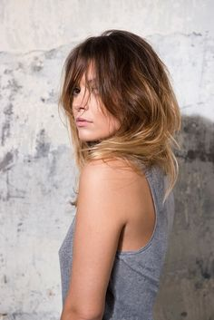 Hairstyles with bangs - Mod's Hair, Chelsea, Cut And Style, My Style, Hairstyles With Bangs, Hair Cuts, Hair Beauty, Long Hair Styles, Women