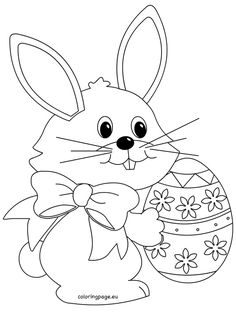 Easter - Page 2 of 10 - Coloring Page