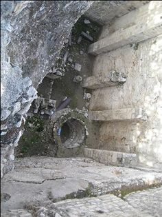 Pool of Bethesda - It is located just north of the temple mount. This is the location where Jesus healed the man at the waters of the Pool of Bethesda. The story is found in John 5. The colonnades were visible at the time of Christ, but the pools would not have been enclosed like it now is. At that time, the floor level was much lower. During Biblical times, pools were public facilities where water was stored for later use. They generally were not used for swimming.