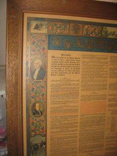 1933 copy of US Constitution...