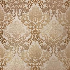 New Damask Wallpaper Bedroom Gold Vintage Wallpapers Ideas French Wallpaper, Accent Wallpaper, Victorian Wallpaper, Cheap Wallpaper, Love Wallpaper, Pattern Wallpaper, Wallpaper Ideas, Gold Damask Wallpaper, Damascus