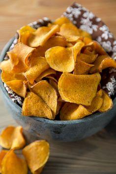 Sweet Potato Chips on PaulaDeen.com