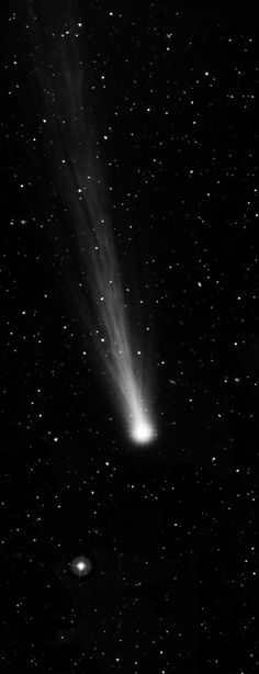 ♥ Comets are comprised of ice, rock and frozen gases like carbon monoxide left over from the formation of the solar system.