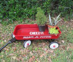 Cheez It Radio Flyer Vintage Advertising Little Red Wagon Yard