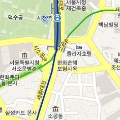 near City Hall, Seoul, Korea