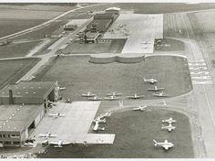 Bilder aus der Geschichte des Flughafens Kassel-Calden
