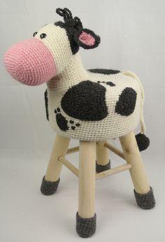 Dieren kruk Koe