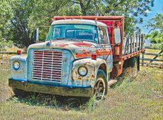 Abandoned International Truck