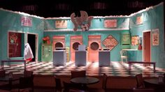 Suds the Musical Set and Props Rental #tmtcompany #sudsthemusical