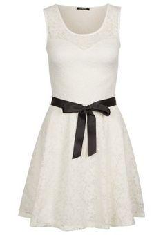 Romantisches Spitzenkleid. Morgan Freizeitkleid - weiß für 69,95 € (15.02.15) versandkostenfrei bei Zalando bestellen.