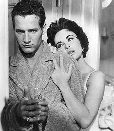 "Resisterci sopra il più a lungo possibile, credo""  Cat on a Hot Tin Root, 1958 by Richard Brooks"