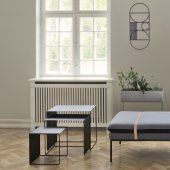 tables basses gigognes en metal ferm living