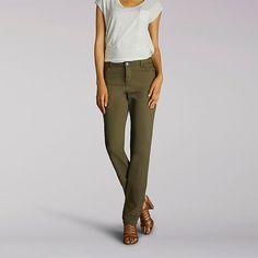 Lee Women's Classic Fit Isabelle Straight Leg Jeans - Petite (Size 18 x P)