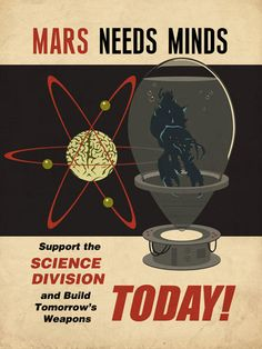 Mars Needs Minds