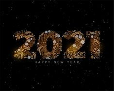 Free Vector | 2021 new year background in christmas decorative element style Happy New Year Banner, Happy New Year Vector, Happy New Year Background, Happy New Year Images, Happy New Year Cards, Happy New Year Greetings, New Year Greeting Cards, New Year Logo, Fireworks Background