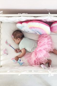 Rainbow cloud pillow to buy on Etsy - HappySpacesWorkshop - girls room ideas, pastel girls room decor, pink room, newborn photo ideas, baby photo ideas