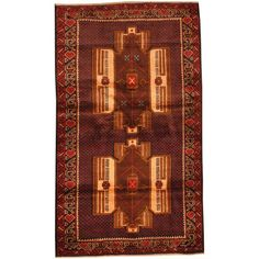 Herat Oriental Afghan Hand-knotted Tribal Balouchi Rug