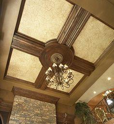Love this ceiling design!