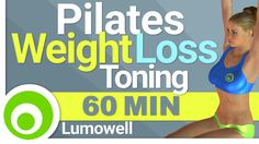 60 minute Pilates workout to tone your body and lose weight at home. ⦿ Calorie Burn: 220 - 450 ⦿ Frequency: do the workout 4 times a week  - Lumowell Androi...