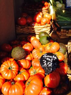 Tomatoes in San Sebastian