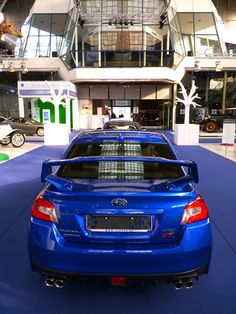 Subaru WRX STi 2015    I need this spoiler for my car