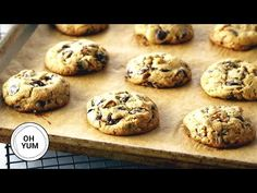 The BEST Chocolate Chip Cookie Recipe Ever! Cookie Recipes video recipe – The Most Practical and Easy Recipes Best Chocolate Chip Cookie Recipe Ever, Best Chocolate Chip Cookies Recipe, Baking Recipes, Cookie Recipes, Dessert Recipes, Desserts, Frozen Cookies, No Bake Cookies, Food Website