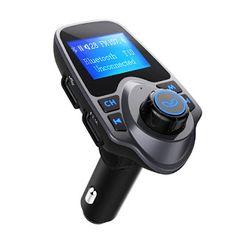 Noticias Ofertas y Oportunidades: Transmisor FM bluetooth de VicTsing para coche, Ad...