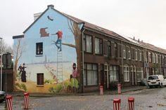 Schimmelplein, Street art, Utrecht, Netherlands