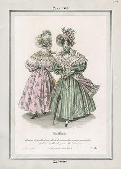 La Mode June 1832 LAPL
