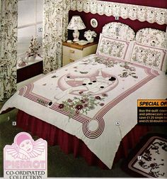 Pierrot bedding - I had the comforter, pillow cases and curtains
