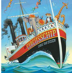 bol.com   Het circusschip, Chris van Dusen & Dusen, Chris van   9789025746452   Boeken...