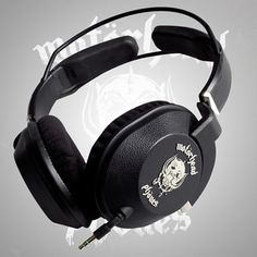 Motorheadphones - Fully approved by the boys themselves, these cans are designed to handle some serious rocking and provide exceptional sound quality.