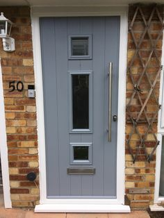 Solidor Front Door in French Grey.