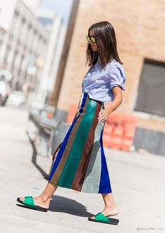 natasha golden berg street style fashion week garance dore photos