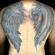Ink Master: Revenge Done by: Cleen Rock One/James Vaughn Challenge: 2 on 1 wings