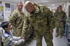 Saying hello by The U.S. Army, via Flickr