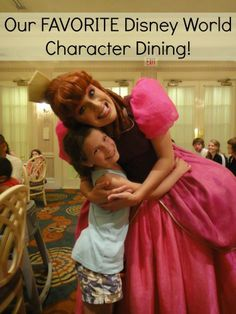 The Best Walt Disney World Character Dining for the Whole Family