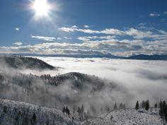 Lake Chelan - Echo Ridge photo gallery - Nordic skiing