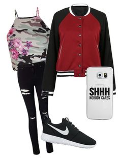 """""""Untitled #2"""" by alevsumer on Polyvore featuring New Look, Miss Selfridge, NIKE and Casetify"""