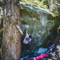 """""""Steppenwolf"""" Felt super easy this time. I tried it first last year an struggled with every single move. Seems like I improved in climbing this winter! Bradley Mountain, Bouldering, Climbing, How To Look Better, Seasons, Pure Products, Winter, Super Easy, Nature"""