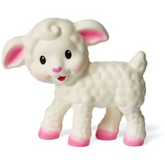 Infantino Squeeze and Teethe, Lamb: Soft, flexible and easy to grab, baby will enjoy squeezing and chewing this fun character. Baby's senses will be stimulated as they enjoy this chewy, squeaky lamb. Baby Sense, Baby Nursery Furniture, Baby Teethers, Everything Baby, Baby Online, Baby Bottles, Baby Registry, New Toys, Baby Gear