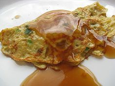 Egg Foo Yung. - What I found great about this recipe is the foo yung sauce, it's absolutely delicious!
