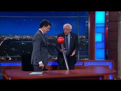 WATCH: Bernie Sanders brings down the house with hilarious surprise Colbert appearance