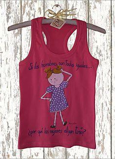Camiseta algodón. Camiseta pintada a mano. Camiseta chica.  Camiseta personalizada. Camiseta con mensaje. Camiseta única. Regalo para chica de irismuse en Etsy