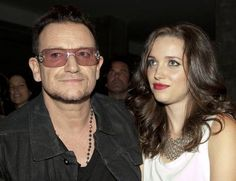 ~Bono's daughter Jordan Hewson is following in her father's footsteps in the international fight against poverty.