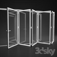 Folding doors Alumil