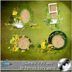 Cluster St Patrick fairy world by kittyscrap