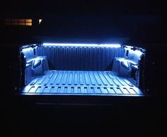 LED Truck Bed lights lounge area in basement Ram Trucks, Cool Trucks, Chevy Trucks, Pickup Trucks, Lifted Chevy, Tacoma Truck, Jeep Truck, Rat Rods, Truck Bed Lights