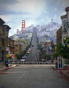 Baie De San Francisco, San Francisco City, San Francisco Travel, San Francisco California, San Francisco Skyline, Places To Travel, Places To See, Pacific Coast Highway, Exotic Places